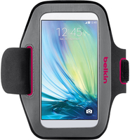 "Belkin Color Dipped Sport-Fit Armband 5.1"" Armband case Grey,Pink"