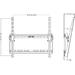 Multibrackets M Universal Tilt Wallmount Medium - Väggmontering - svar