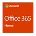 Office 365 Home - New License - Up To 6 Users -  Win/mac/android/ios - English