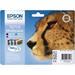 Epson Multipack T0715 - Utskriftkassett - 1 x svart, gul, cyan , magen