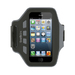 Neoprene Slim Fitarmband For iPhone 5 In Black And Grey