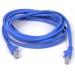 CAT5e Sng/Shd Patch Cable RJ45M 1M Blue